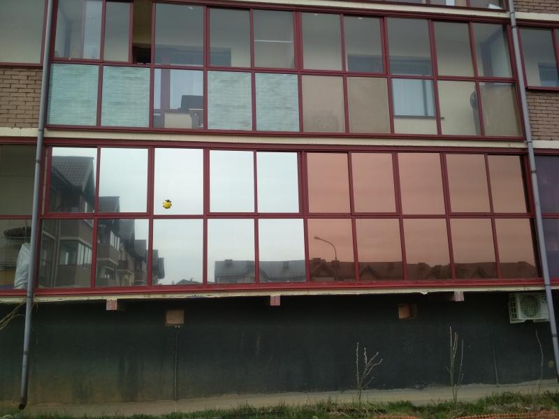 Тонирование  Бронирование стекла окна, балконы, офисные перегородки